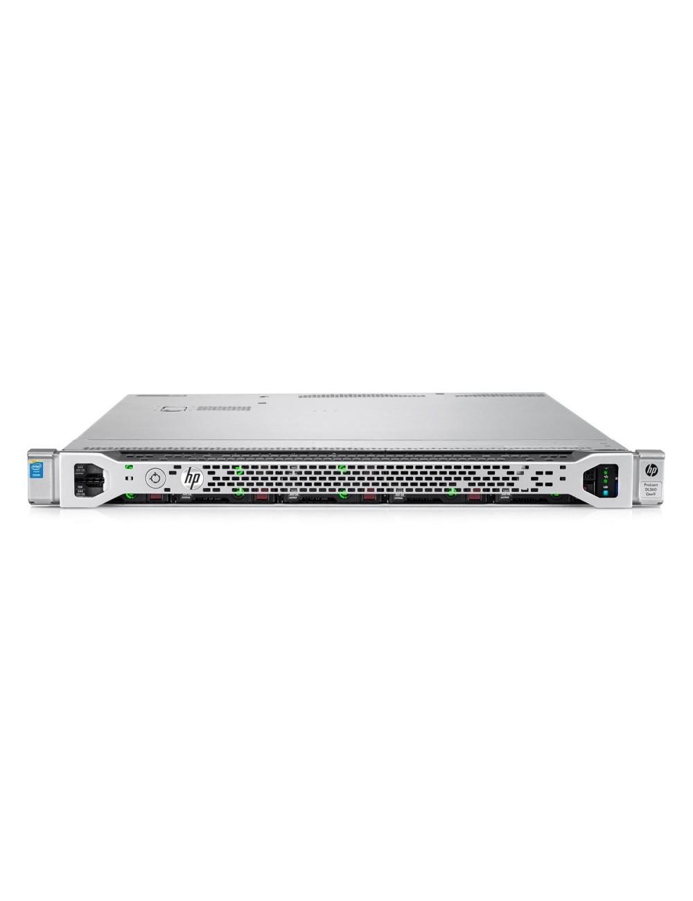 """HPE DL360 G9 8x 2,5"""" SFF, 2x E5-2620 v4 8c, 256GB DDR4 (16x 16GB), 4x 2,5"""" 1,2TB 10k 6G SAS HDD, 2x 1,92TB 2,5"""" SATA SSD"""